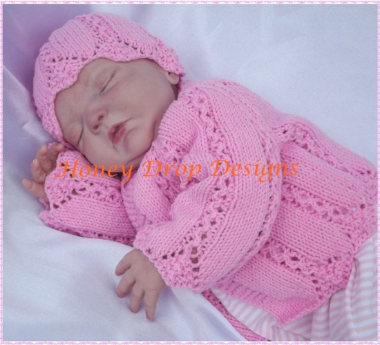 Springtime Cardigans (4 Sizes)-reborn, baby, knitting ...