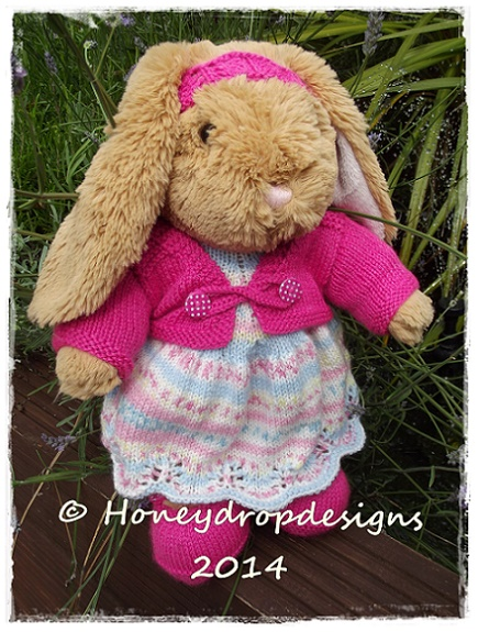 Lets Knit for Ted & Co (Pattern 1)-