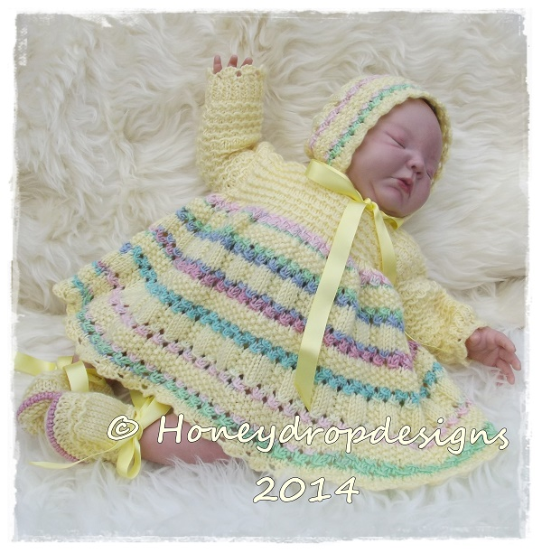 Popsicle (4 Sizes)-reborn,baby,knitted,honey,drop,designs,dress,dresses,bonnet,pants,