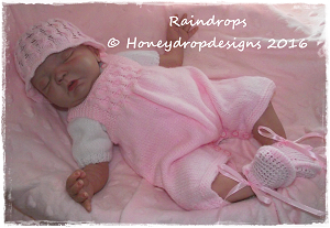 *NEW DESIGN* RAINDROPS (4 Sizes)-