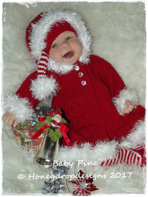 BABY PINE-baby, reborn, hat, leggings, christmas, doll, hood, jumper, bonnet,