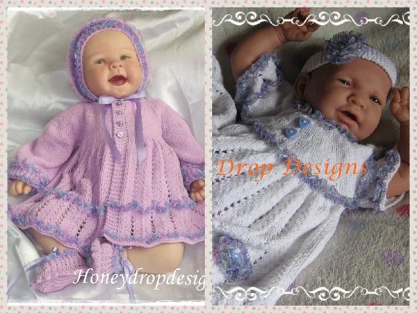 Parma Violets COMBO (2 Patterns)-
