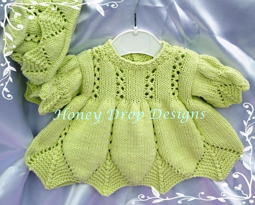 Reborn Baby Dresses Knitting Pattern