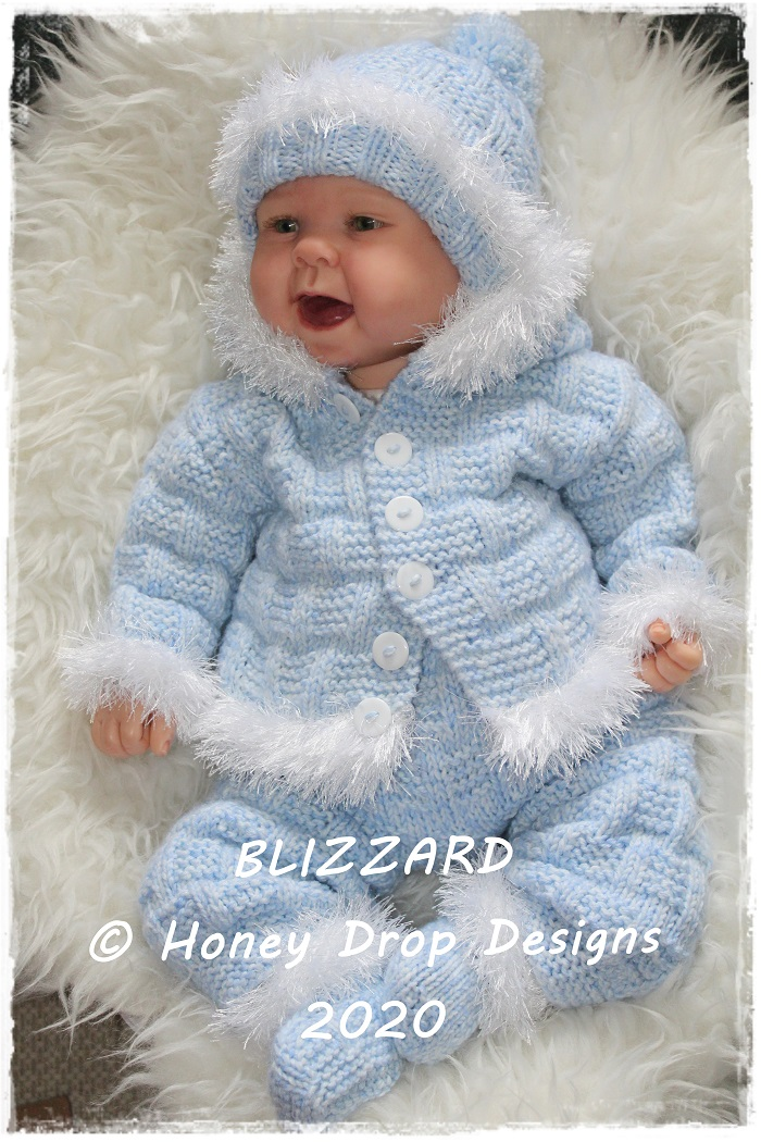 BLIZZARD (Chunky Yarn 3-6 Months)
